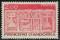 Andorra (French POs) SG F343 1983 Definitive 2f mounted mint